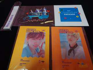 [Ready stock] Bts summer package loose item