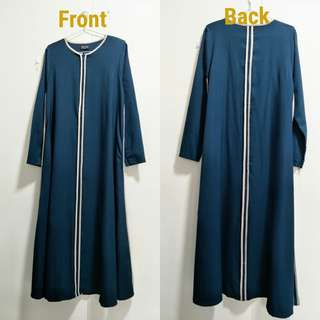 🚚 Imaan Boutique Dark Turquoise Jubah (2ndhand)