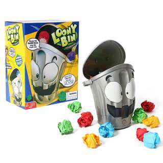 LOONY BIN Board Game Moving Trash Electronic Toy Funny Game