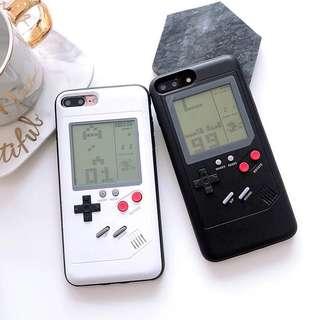可以玩遊戲的手機殻 IPhone 6/7/8/10/ plus 懷舊遊戲 俄羅斯方塊 網紅