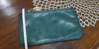 Authentic Leather Christian Dior Pouch