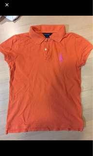 🚚 Ralph Lauren POLO 橘色上衣