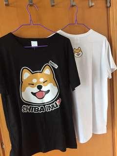 柴犬情侶T shirt