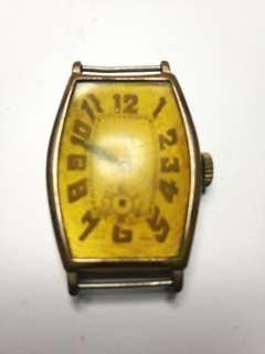 Late 1920s or Early 1930s Tourneau Gents Rolled Pink Gold Swiss Watch