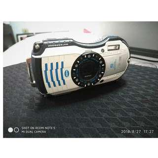 Underwater camera: PENTAX WG-3 GPS 16.0MP Digital Camera - White