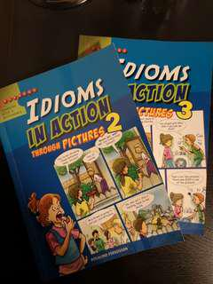 Idioms in action through pictures 2 & 3