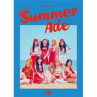 [Preorder] Dia -4th mini album [Summer Ade ]