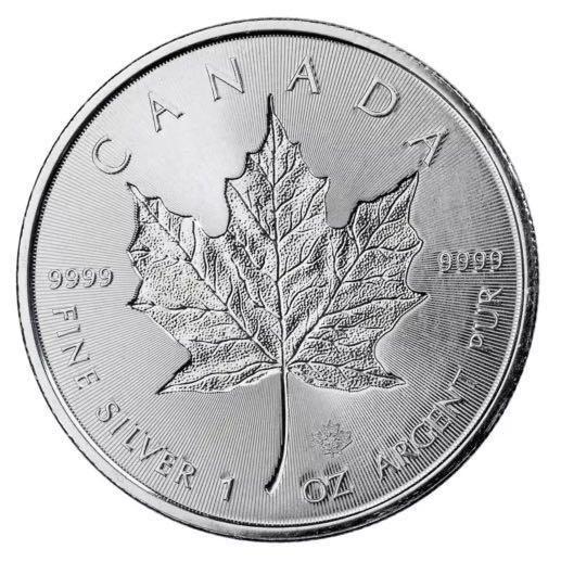 2018 Canada Silver Maple Leaf 1onz 99.99% Silver Coin