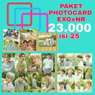 Photocard EXO x Nature Republic