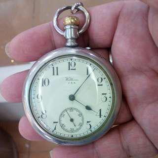 1917年製造美國華爾頓古董陀錶