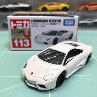 Tomica No.113 Lamborghini Reventon 初回有貼