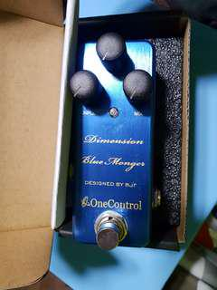 One Control Dimension Blue Monger Chorus