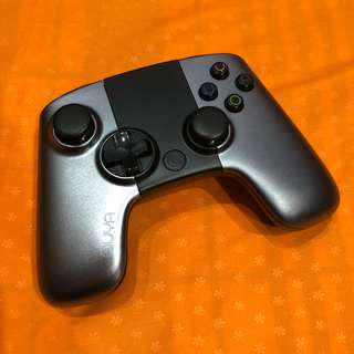 OUYA Gaming Bluetooth Controller Battery Powered Console Metallic Android PC