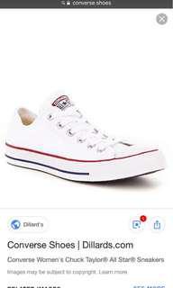 (SOLD) Converse Sneakers