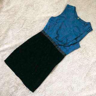 🚚 TEM Teal Work Dress