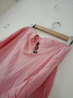 🚚 甜美 粉色洋裝