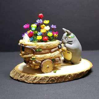 Frozen Flowers Tototo Push Cart Terrarium (3)