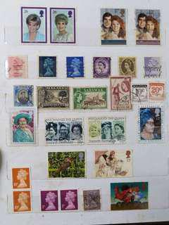 Old International Stamps