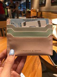 Cardholder charles & keith