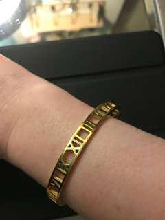 Roman numbers bracelet