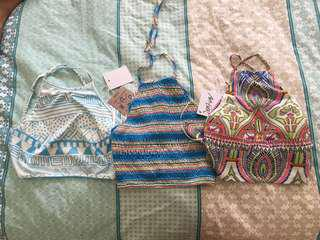 bundle crop tops size 6-8 summer