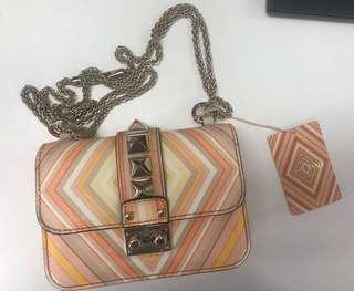 Valentino native couture 1975 lock mini bag