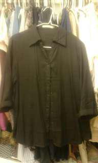 Woman's black shirt