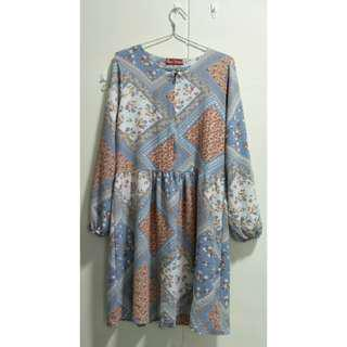 Babydoll Floral Top (2ndhand)