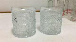 Vintage glass cup