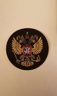 Russia royal emblem - 2 headed eagle