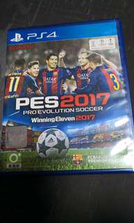 PS4 PES 2017 winning Eleven 2017