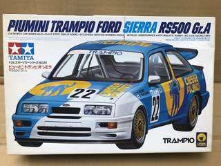 Tamiya 1/24 Piumini Trampio Ford Sierra RS500 Gr. A Made in Japan 1989