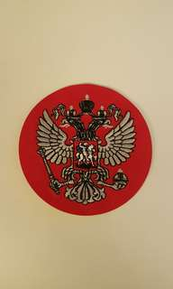 Russian royal emblem - 2 headed eagle
