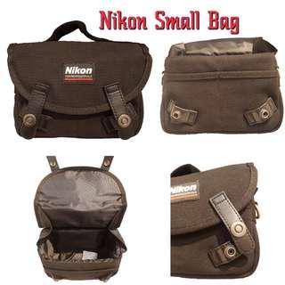 Nikon Canvas Bag (Black) 100% Original and Authentic!