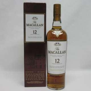 Macallan 12y sherry cask 日版