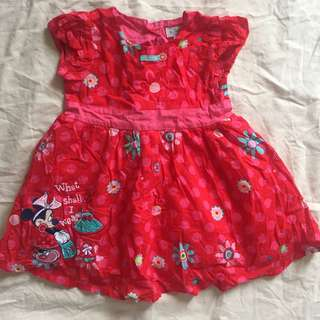 Disney Minnie Mouse Red Dress