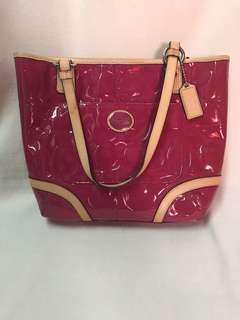 Authentic Coach Pink Shoulder Bag