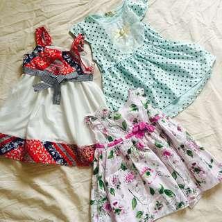 Preloved Baby Dresses Bundle