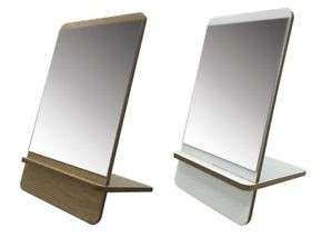 Cosmetic Wooden Mirror