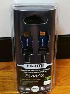 全新 (2THE MAX) HDMI 線 型號: MP224HD (2M/米)