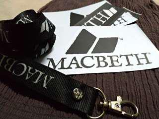 FOR SALE MACBETH LANYARD