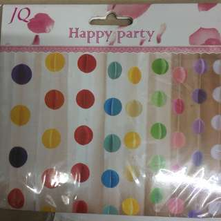 Party Curtains (circles)