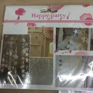 Party Curtains (stars)