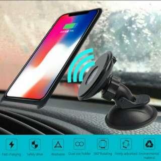 Qi Nano Suction 360 Car Wireless Charge