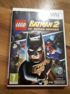 WII Batman 2 Games (France)
