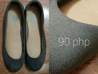 Solemate Gray Flats Dollshoes