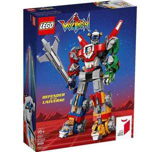 Lego Ideas Voltron Defender of the Universe 21311