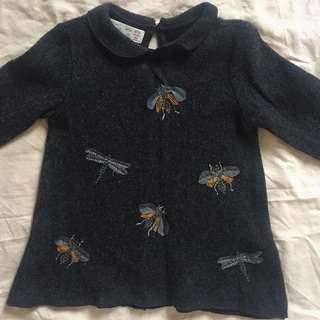 Zara Wool Sweater 12M