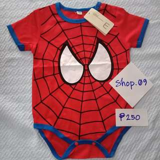 Baby Romper Spiderman Onesie