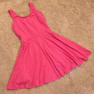 🚚 Pink Skater Dress
